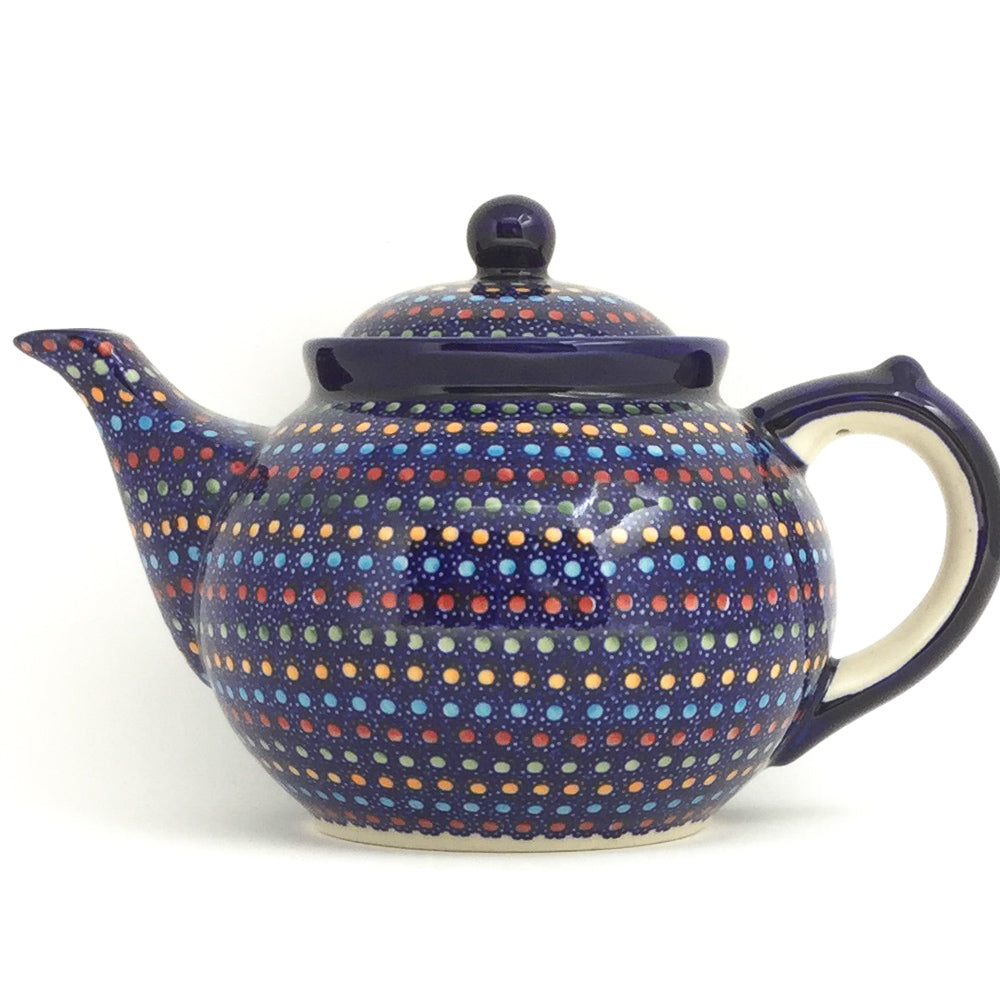 Afternoon Teapot 1.5 qt in Multi-Colored Dots