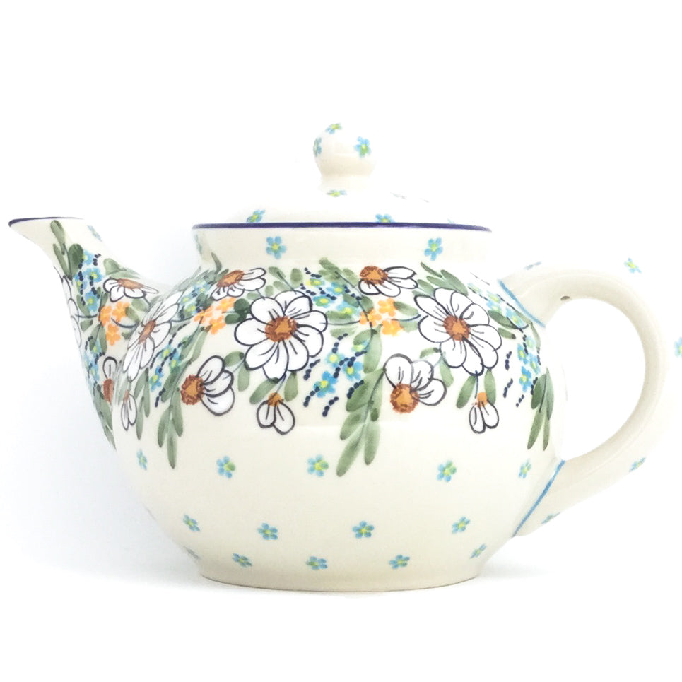 Afternoon Teapot 1.5 qt in Spectacular Daisy