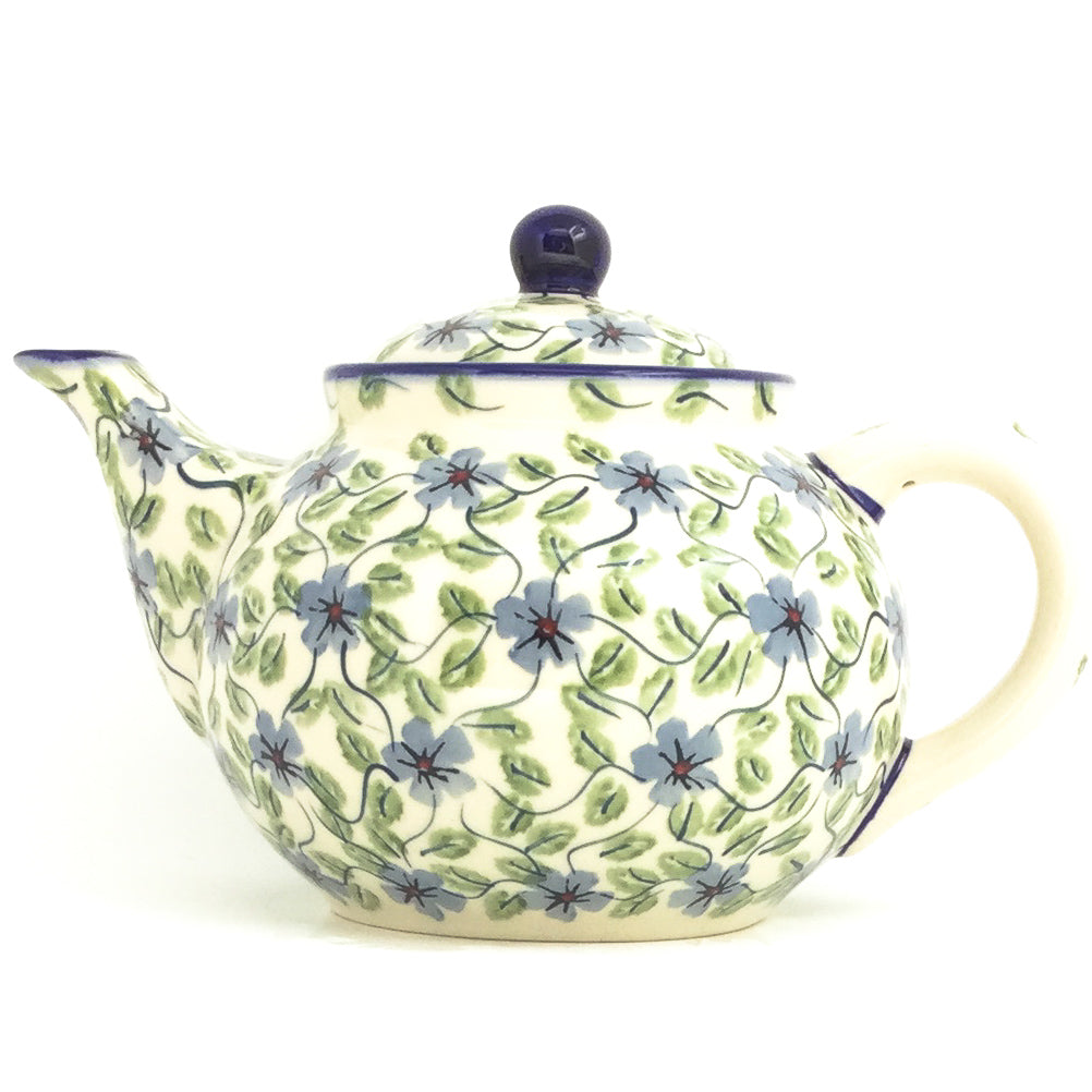 Afternoon Teapot 1.5 qt in Blue Clematis