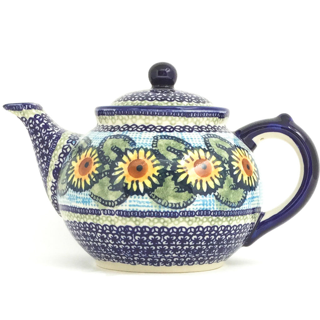 Afternoon Teapot 1.5 qt in Sunflowers