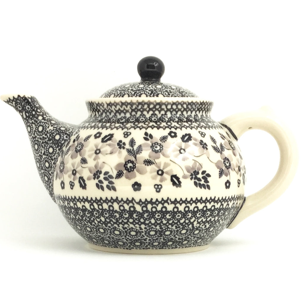 Afternoon Teapot 1.5 qt in Gray & Black