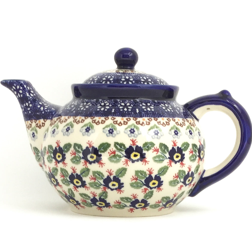 Afternoon Teapot 1.5 qt in Forget-Me-Not