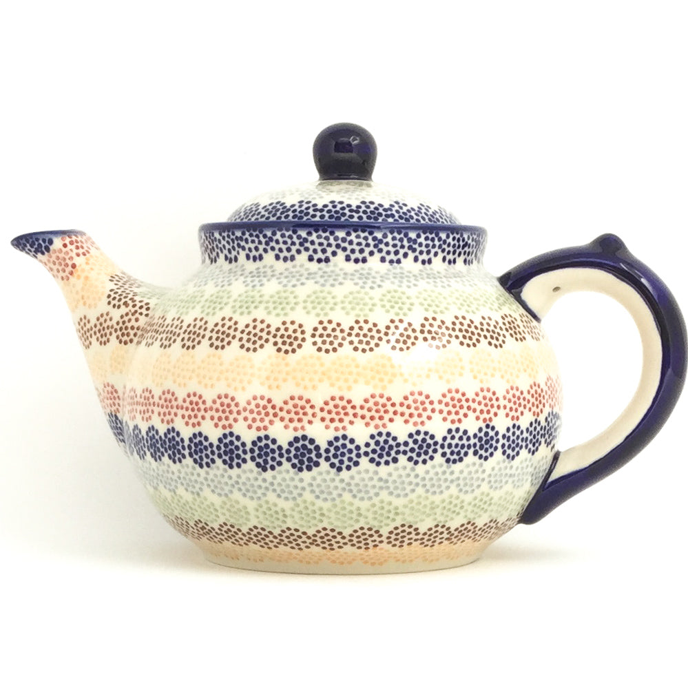 Afternoon Teapot 1.5 qt in Modern Dots