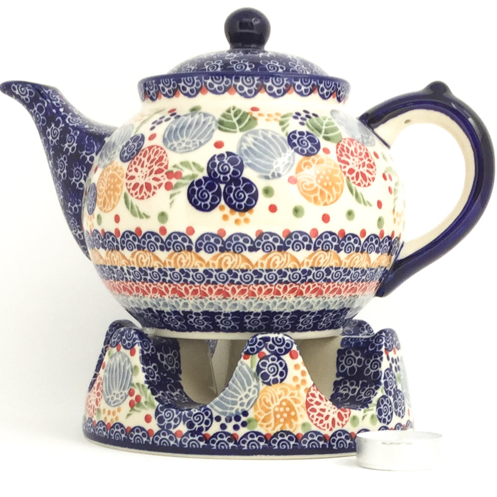 Afternoon Teapot 1.5 qt in Modern Berries
