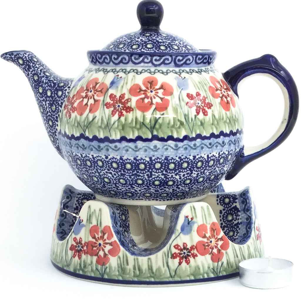 Morning Teapot 1 qt in Spring Meadow