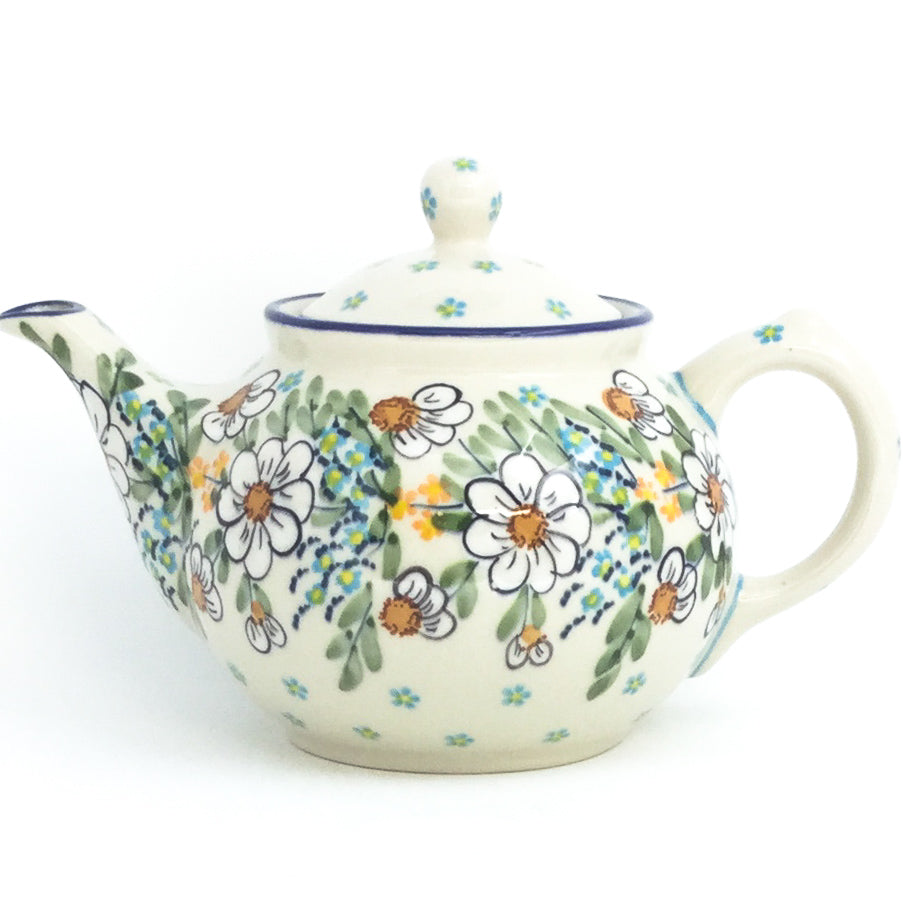 Morning Teapot 1 qt in Spectacular Daisy