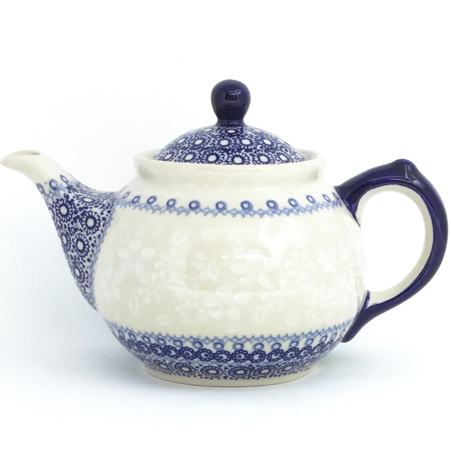 Morning Teapot  1 qt in Delicate Blue
