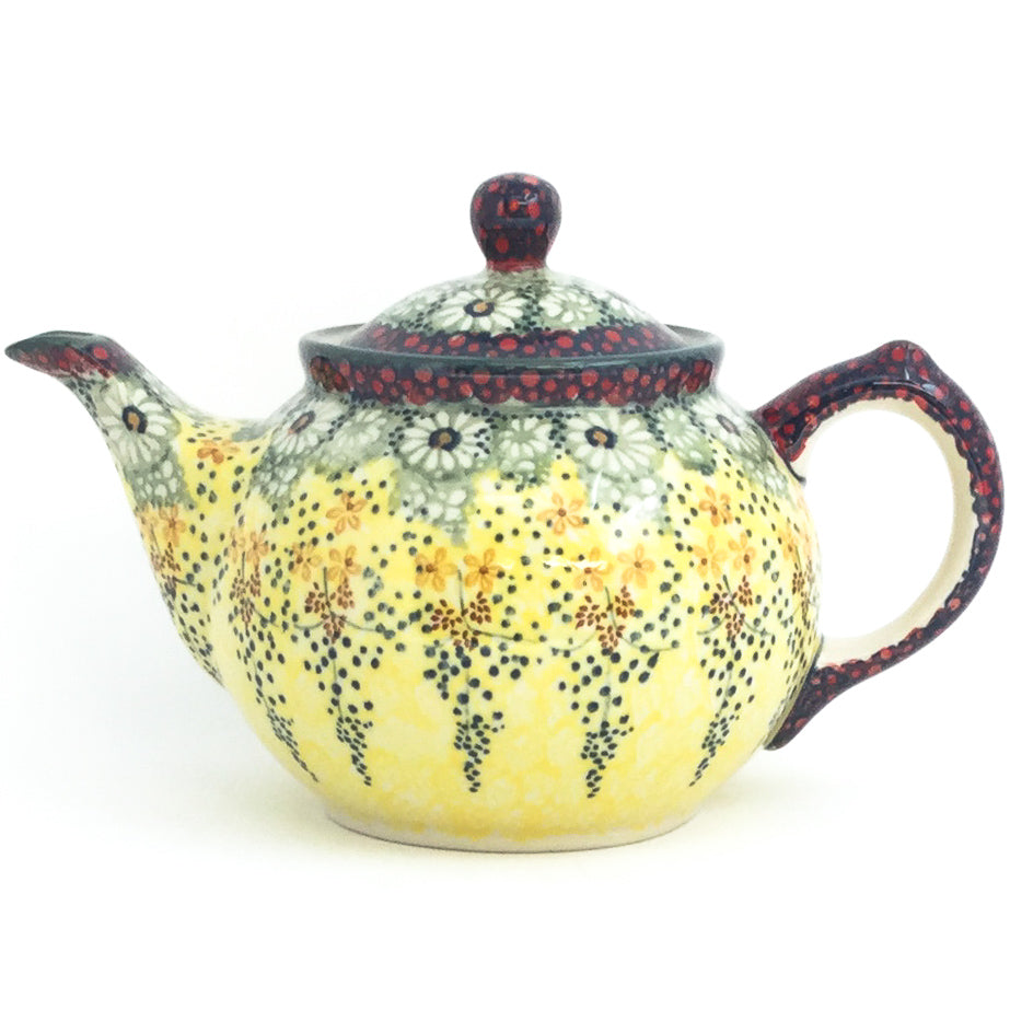 Morning Teapot  1 qt in Cottage Decor