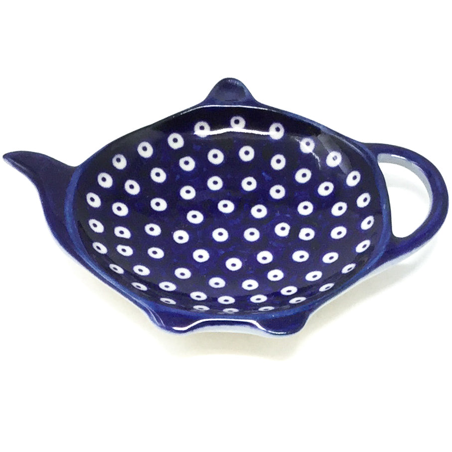 Teabag Dish in Blue Elegance