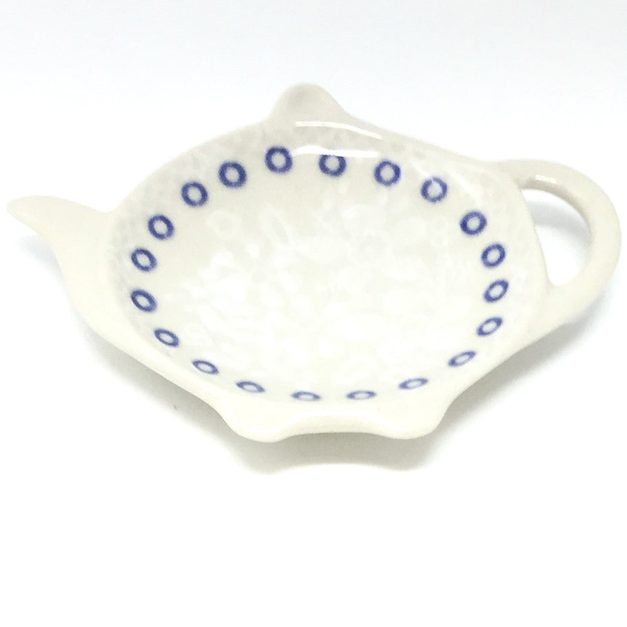 Teabag Dish in Delicate Blue