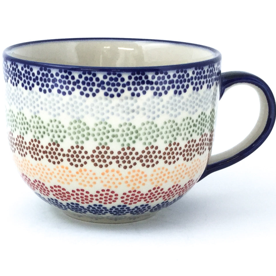 Latte Cup 16 oz in Modern Dots