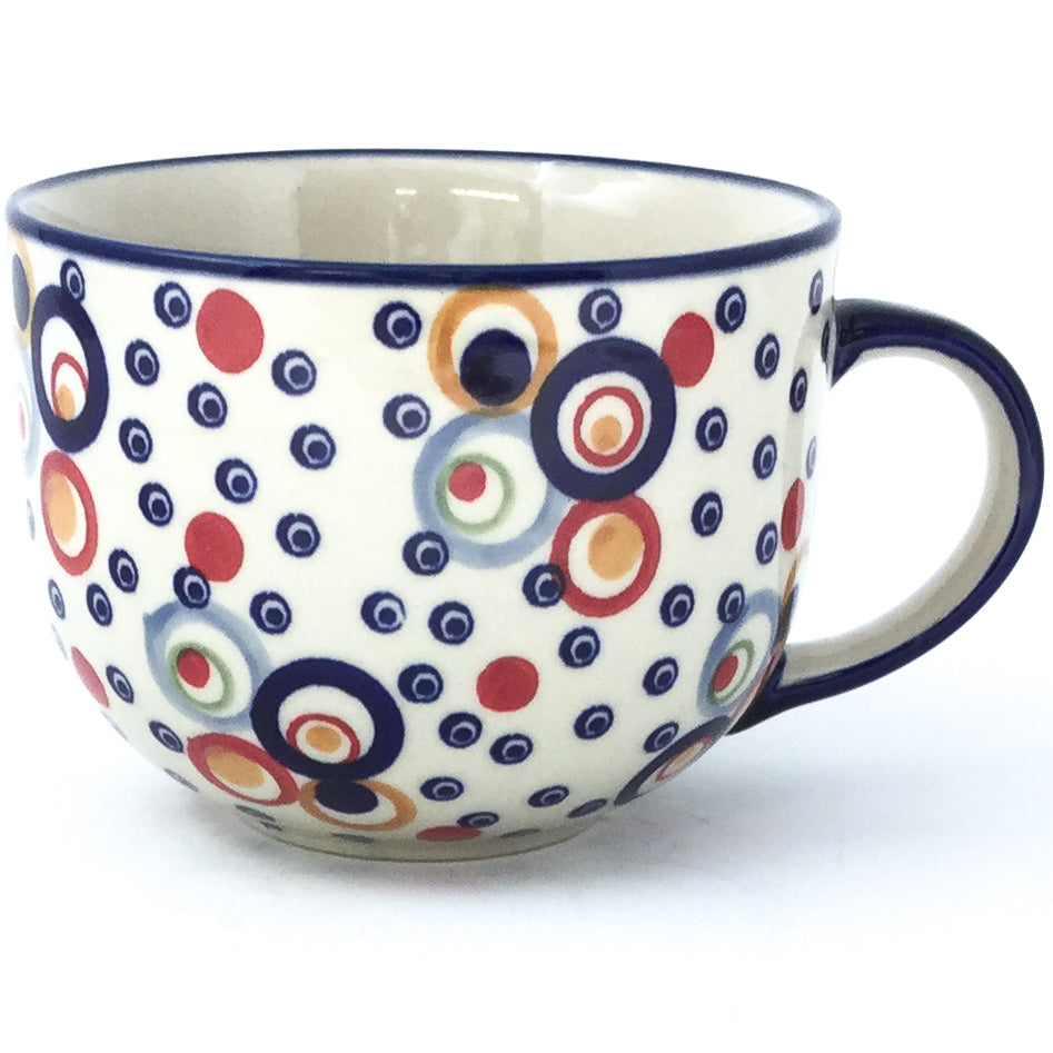 Latte Cup 16 oz in Modern Circles