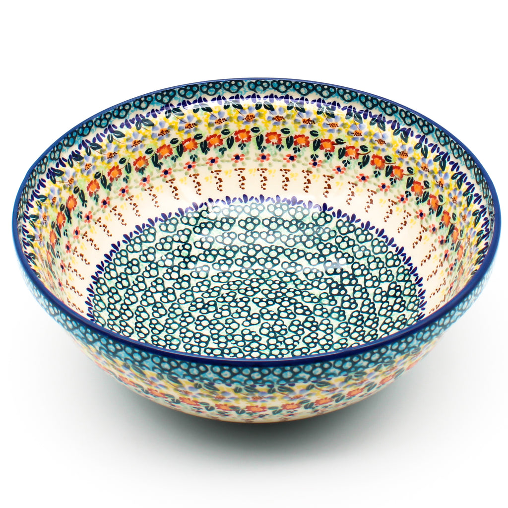 Latte Cup 16 oz in White Daisy