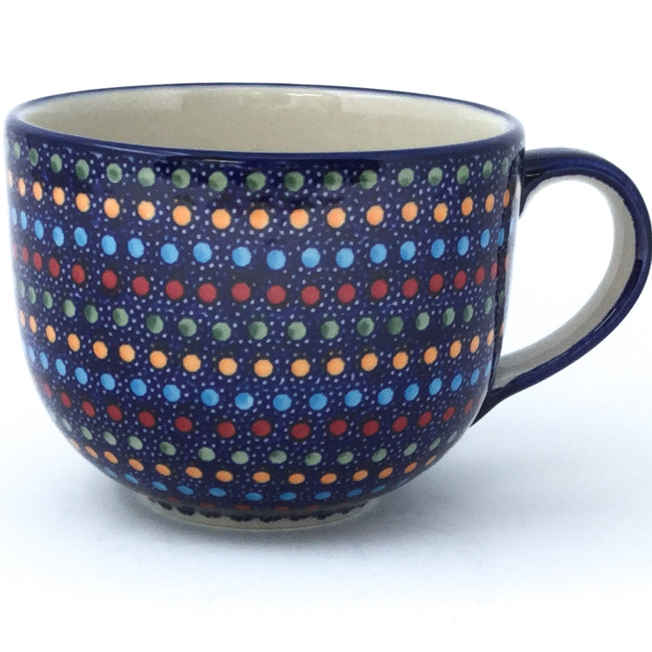 Latte Cup 16 oz in Multi-Colored Dots