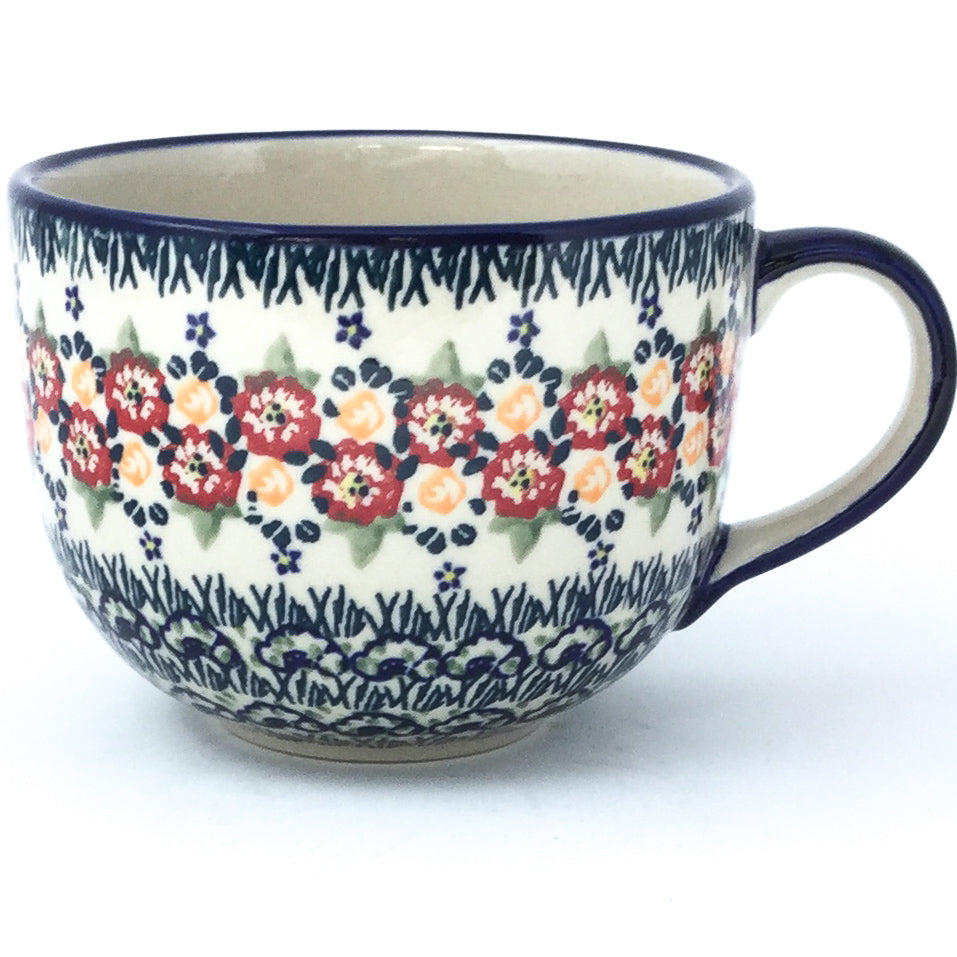 Latte Cup 16 oz in Wild Roses