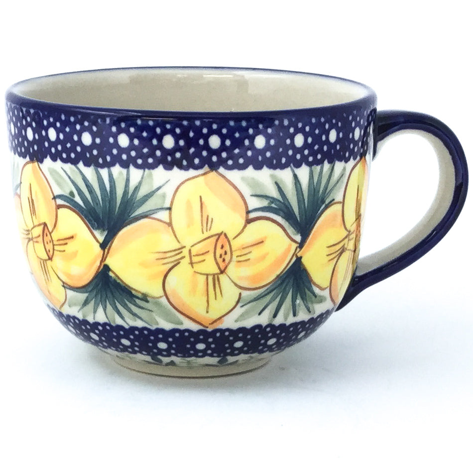 Latte Cup 16 oz in Daffodils
