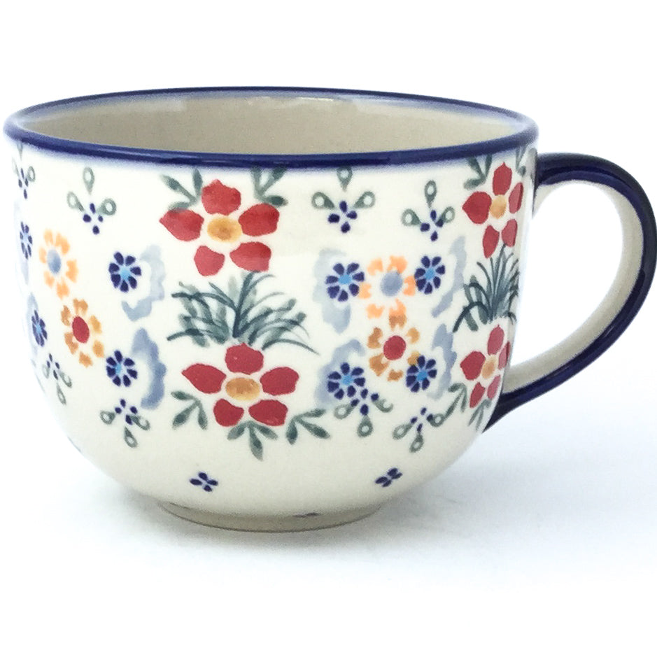 Latte Cup 16 oz in Delicate Flowers