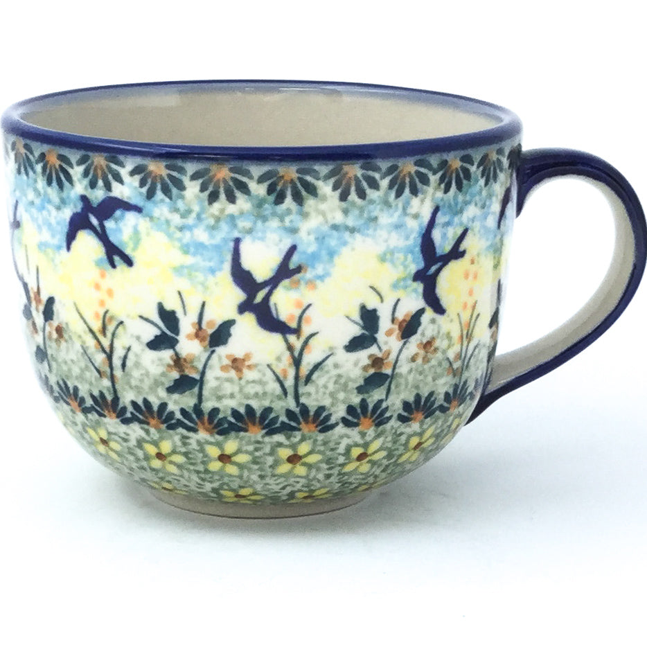 Latte Cup 16 oz in Birds