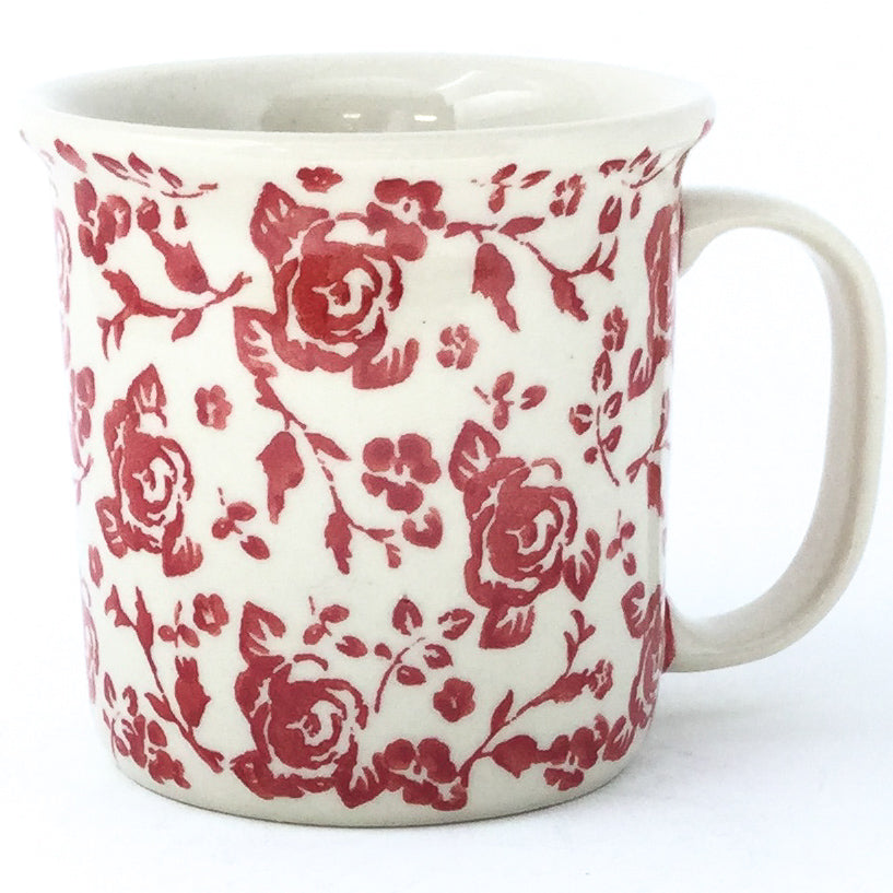 Straight Cup 12 oz in Antique Red