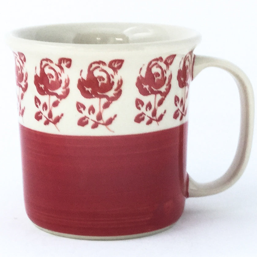 Straight Cup 12 oz in Red Rose