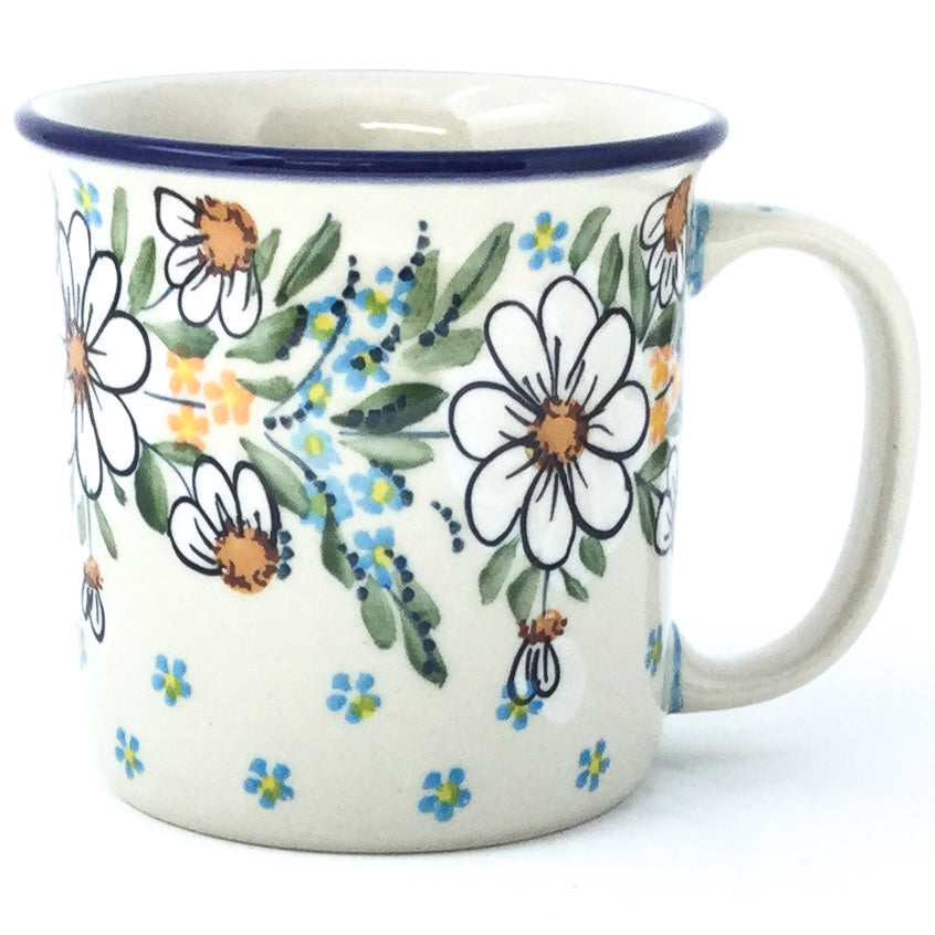 Straight Cup 12 oz in Spectacular Daisy