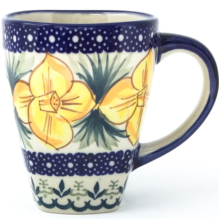 Square Cup 12 oz in Daffodils