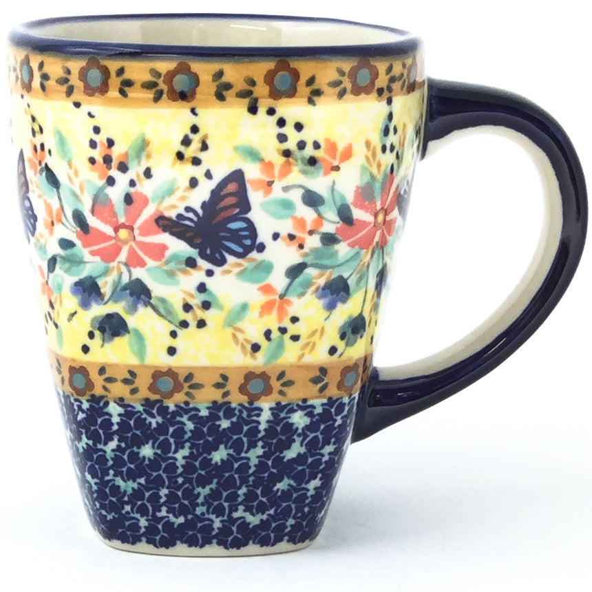 Square Cup 12 oz in Butterfly Meadow
