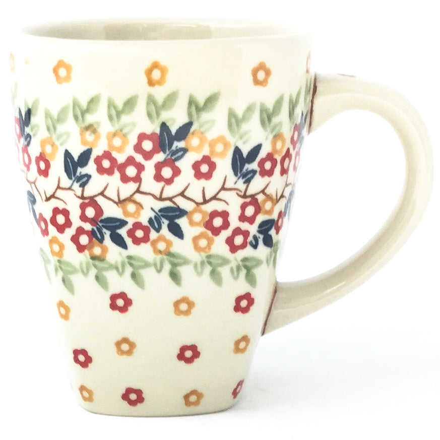 Square Cup 12 oz in Tiny Flowers