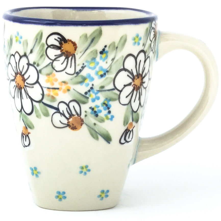 Square Cup 12 oz in Spectacular Daisy