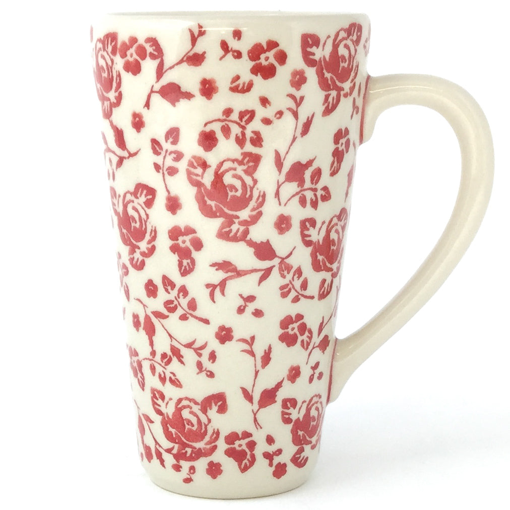 Tall Cup 12 oz in Antique Red