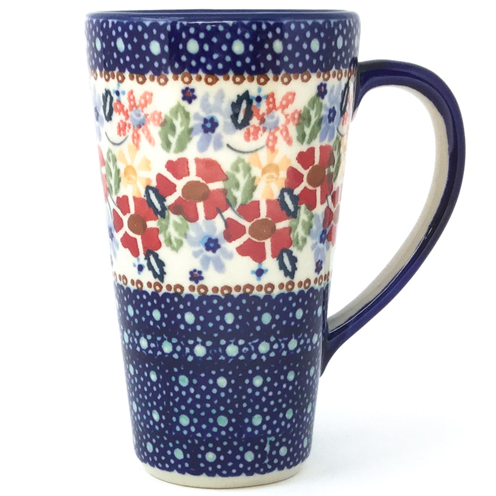 Tall Cup 12 oz in Wild Flowers