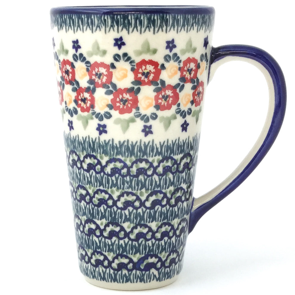 Tall Cup 12 oz in Wild Roses