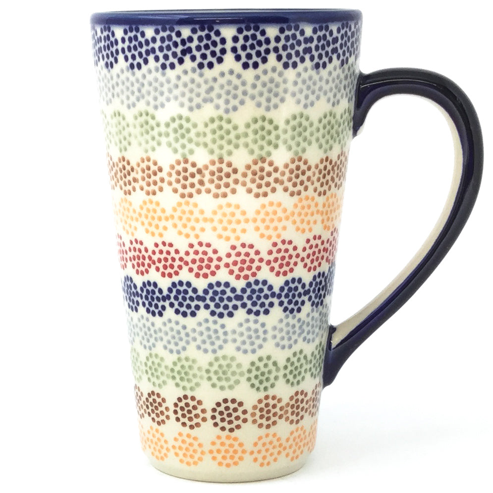 Tall Cup 12 oz in Modern Dots