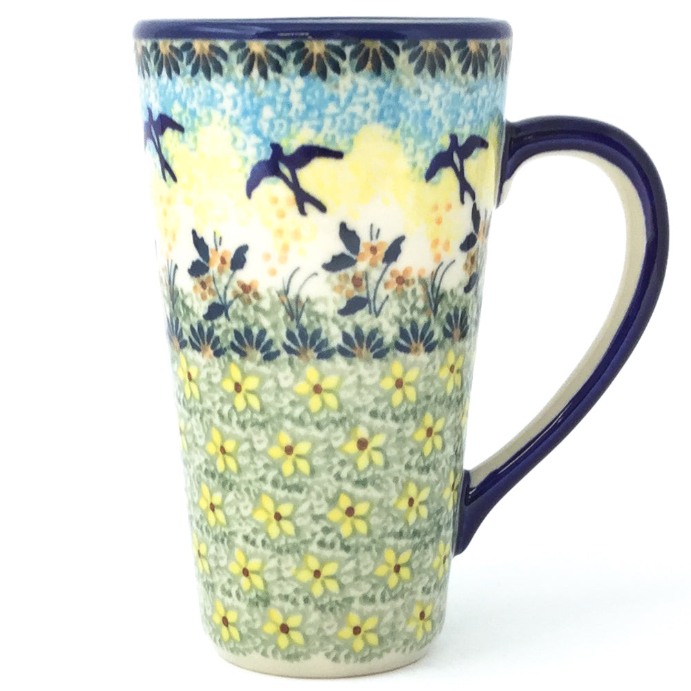 Tall Cup 12 oz in Birds