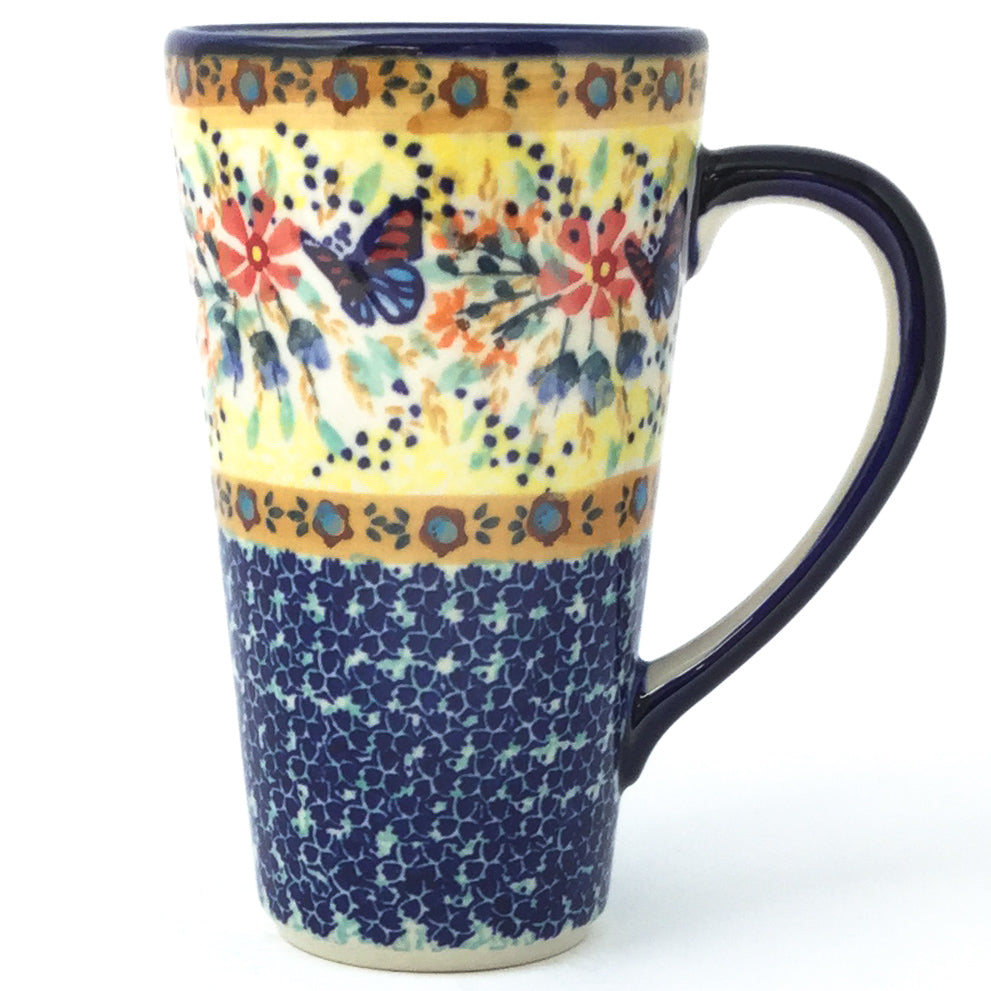 Tall Cup 12 oz in Butterfly Meadow