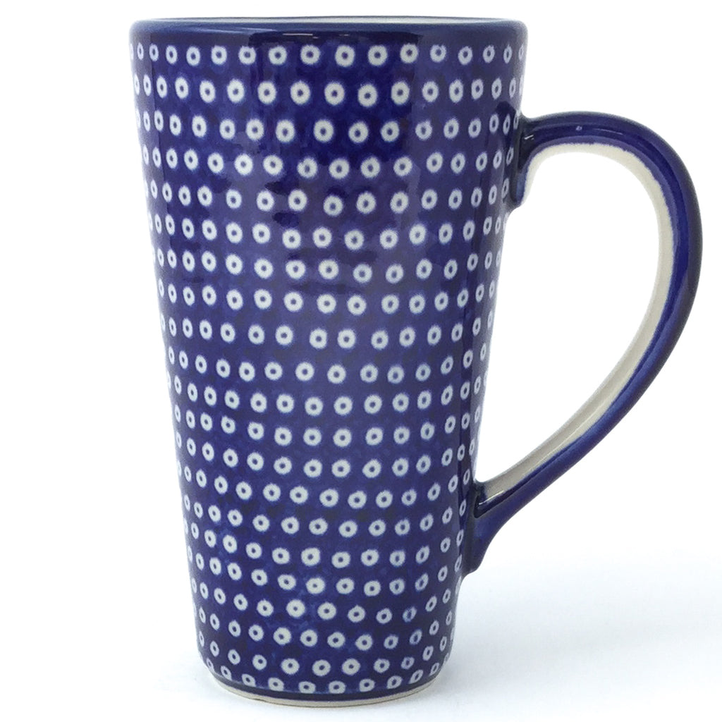 Tall Cup 12 oz in Blue Elegance