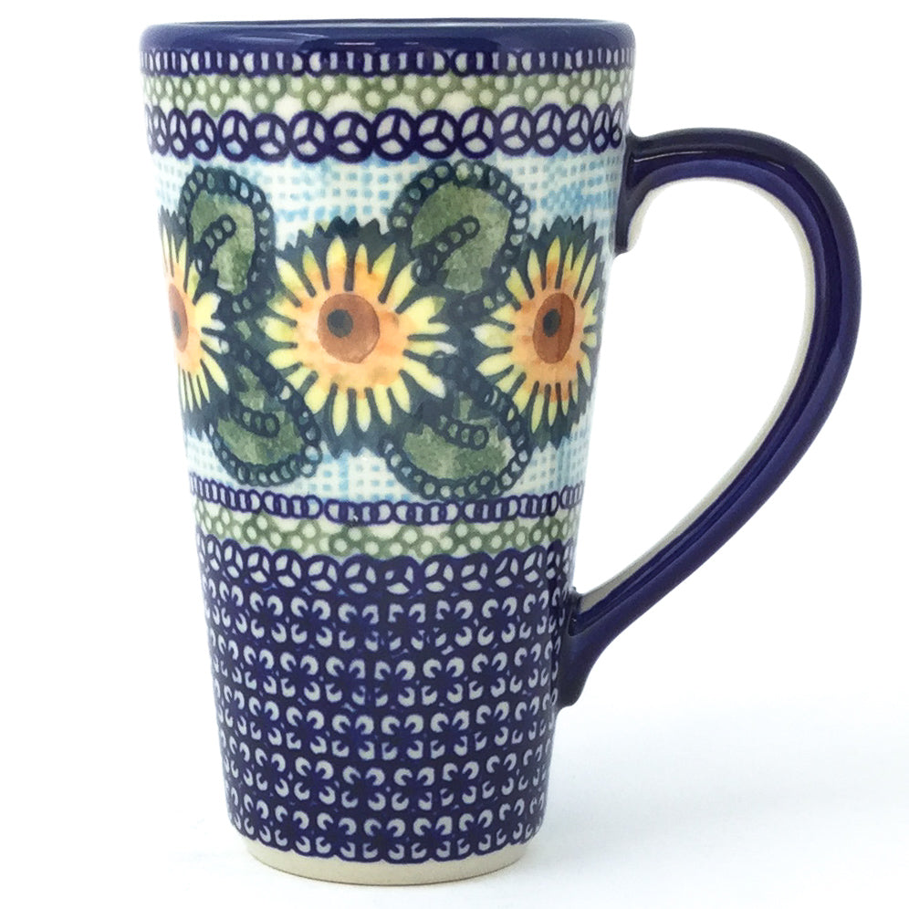 Tall Cup 12 oz in Sunflowers