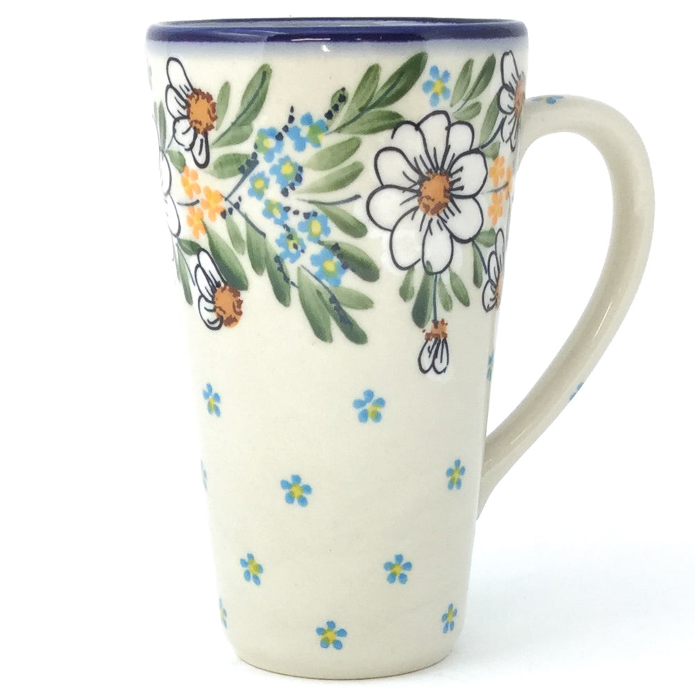 Tall Cup 12 oz in Spectacular Daisy