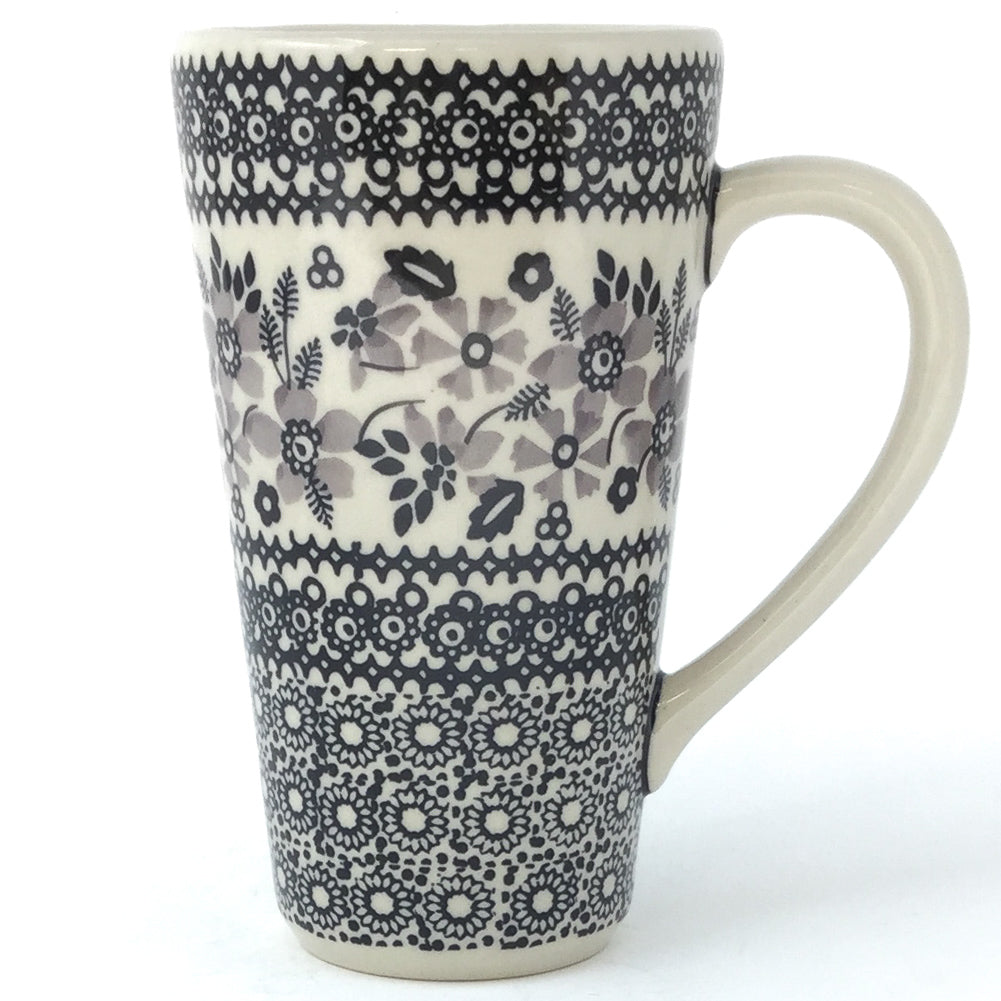 Tall Cup 12 oz in Gray & Black