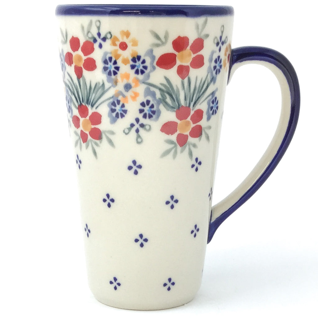 Tall Cup 12 oz in Delicate Flowers