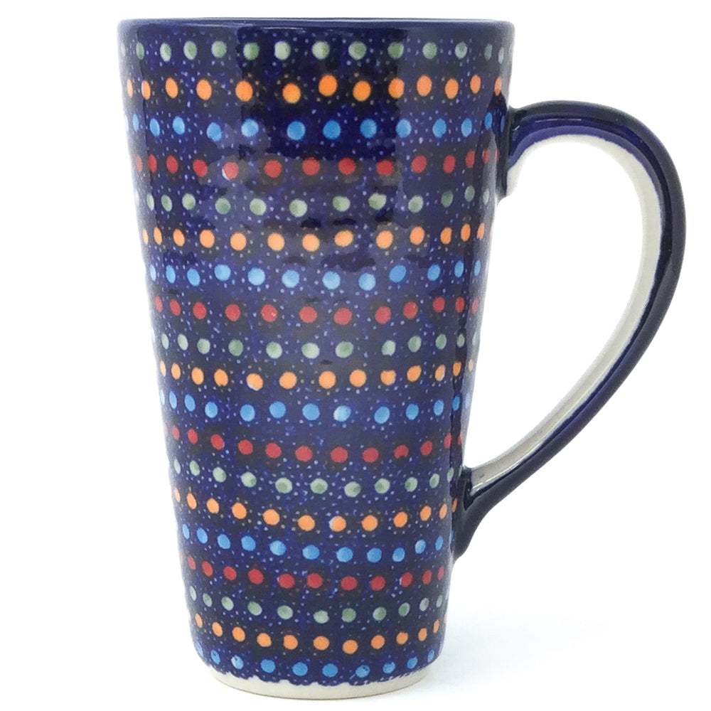 Tall Cup 12 oz in Multi-Colored Dots