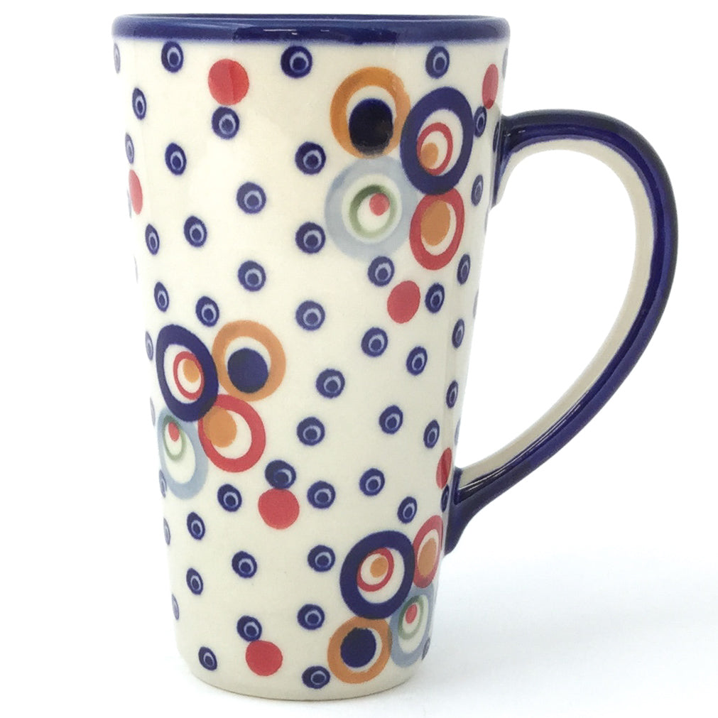 Tall Cup 12 oz in Modern Circles