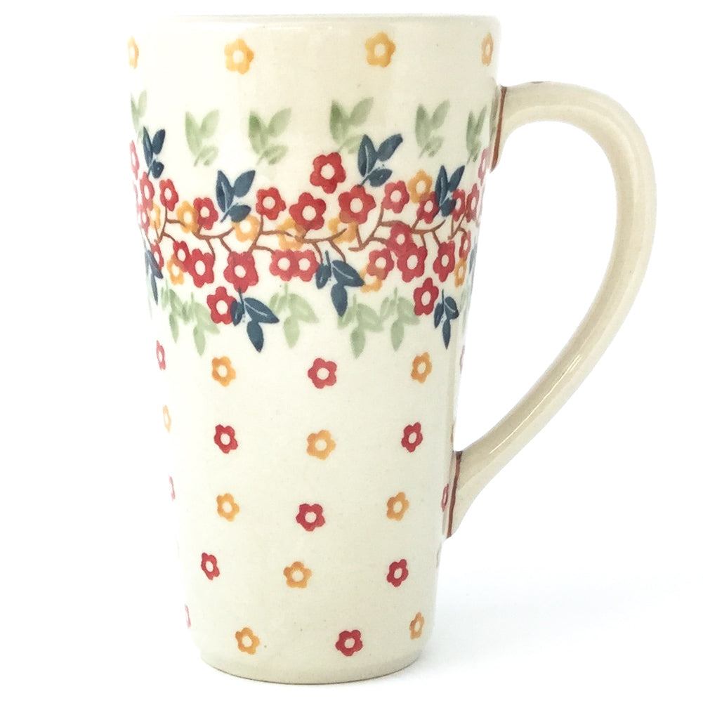 Tall Cup 12 oz in Tiny Flowers