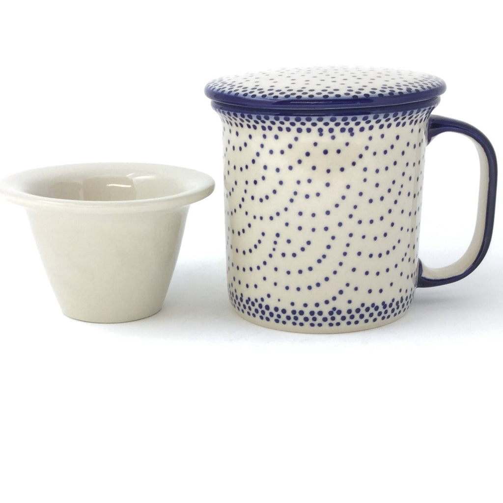 Straight Cup w/Infuser & Cover 12 oz in Simple Elegance