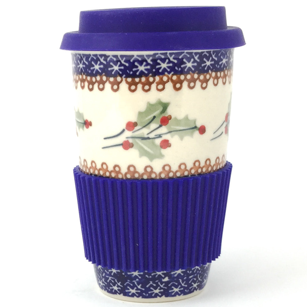 Travel Cup 14 oz in Holly