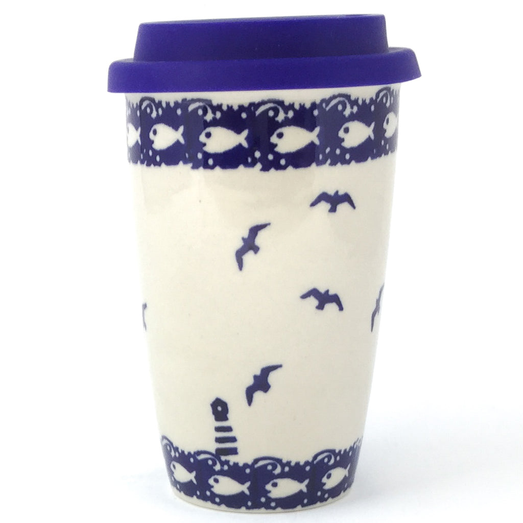 Travel Cup 14 oz in Lighthouse