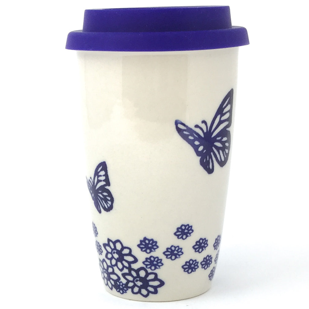 Travel Cup 14 oz in Butterfly