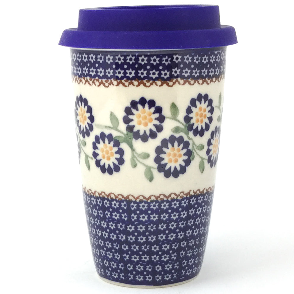 Travel Cup 14 oz in Yellow Aster