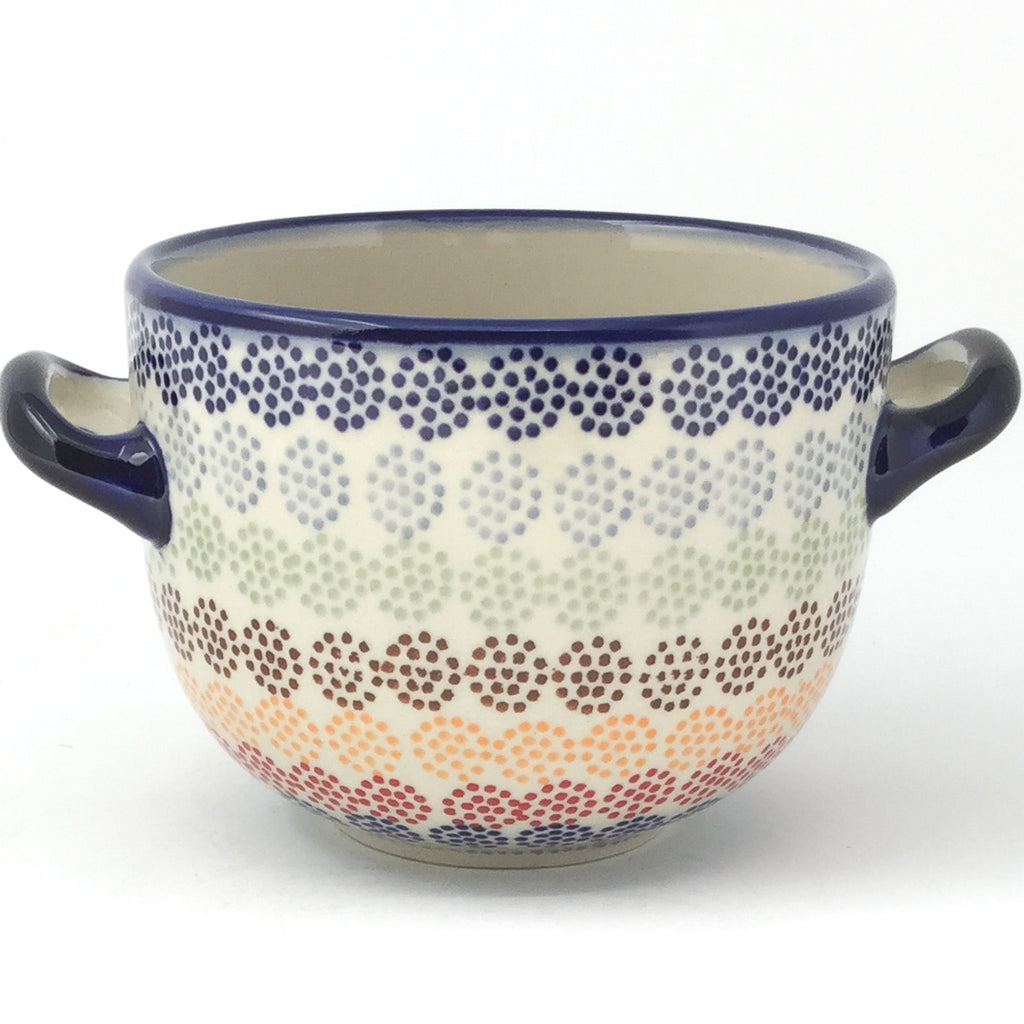 Bouillon Cup 16 oz in Modern Dots