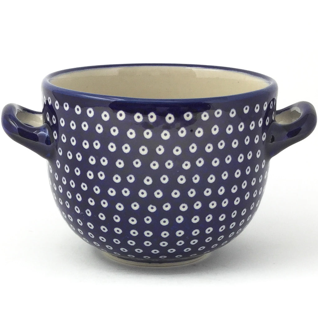 Bouillon Cup 16 oz in Blue Elegance